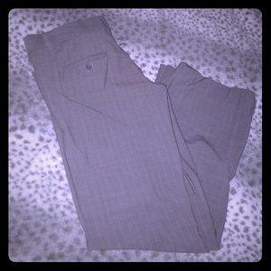 Grey pin stripped dress pants